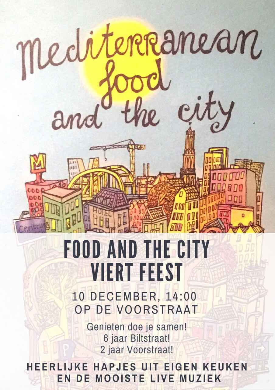food and the city invitation